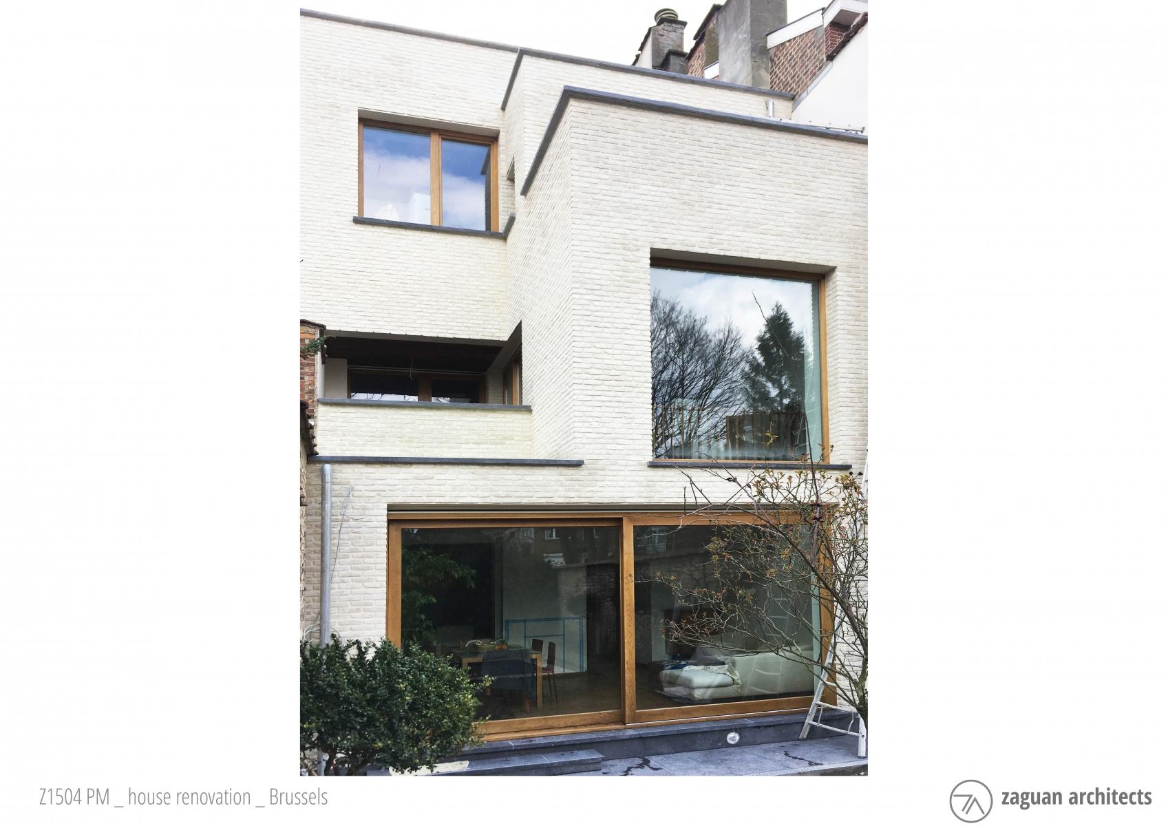 zaguanarchitects house renovation brussels Z1504 001