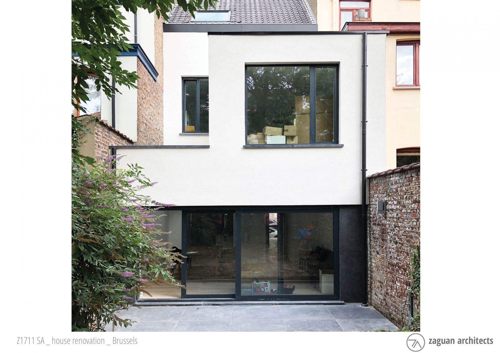 andres gonzalez gil zaguanarchitects house renovation brussels Z1711 01