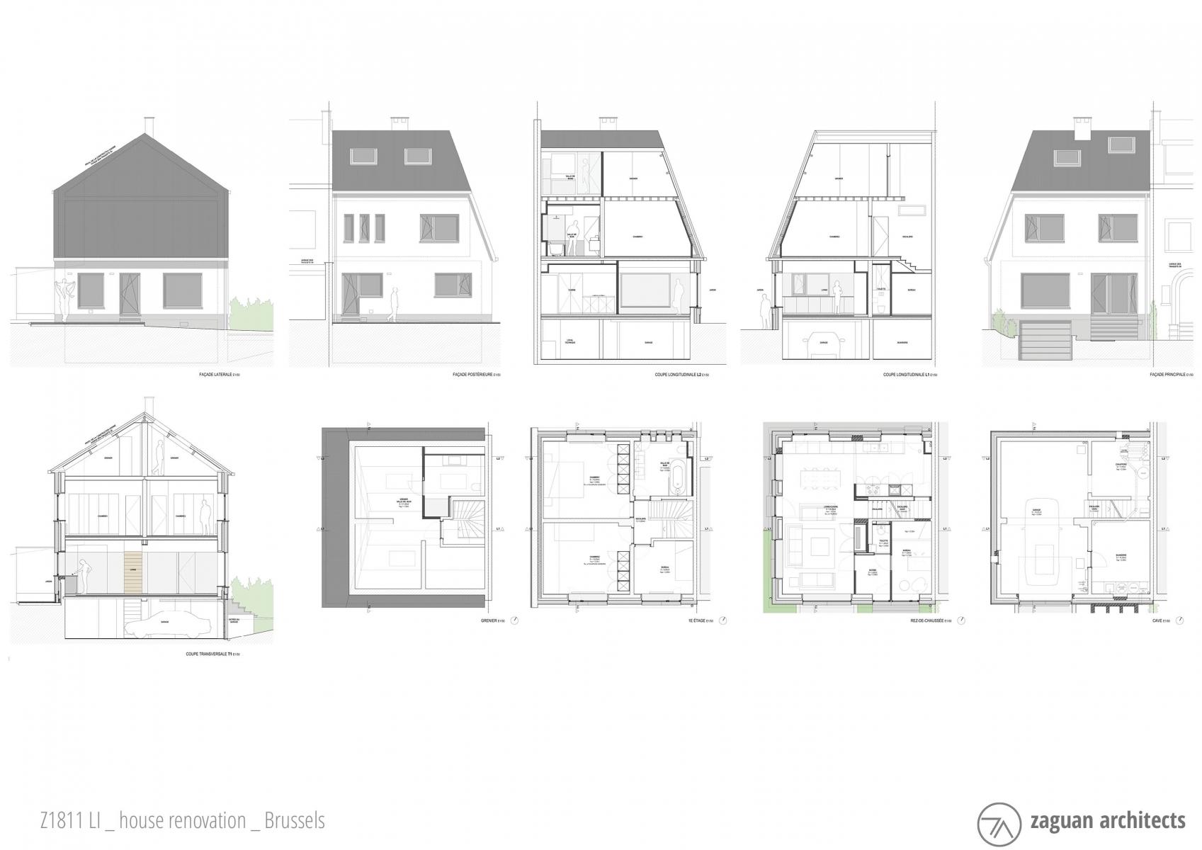andres gonzalez gil zaguanarchitects house renovation brussels Z1811 03