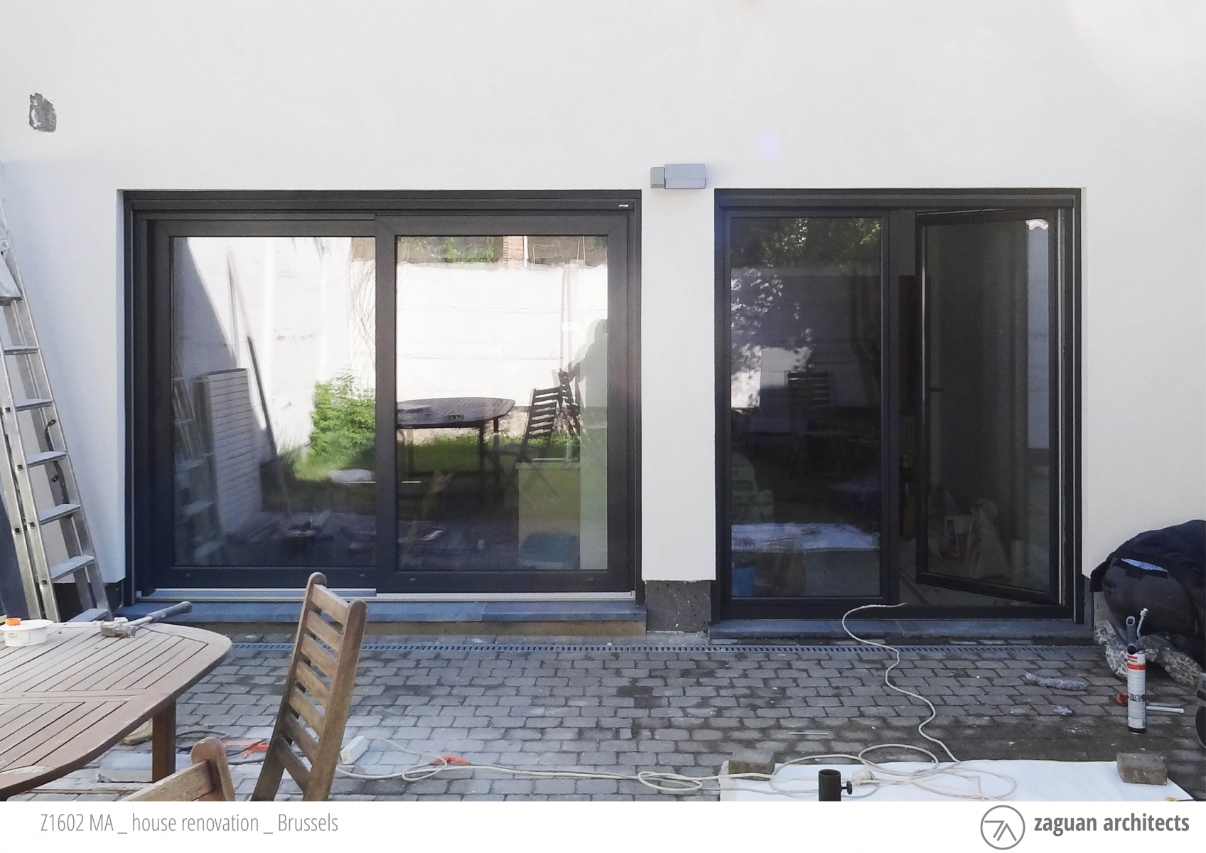 zaguanarchitects house renovation brussels Z1602 01