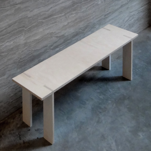 iZ SS1602 zaguanarchitects plywood furniture bench AH HA